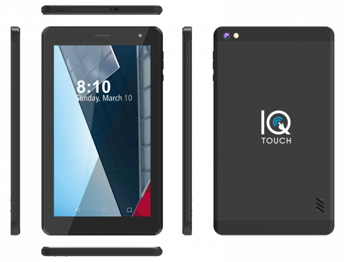"IQ TOUCH TABLET 4G TABLET 7"" QX740"
