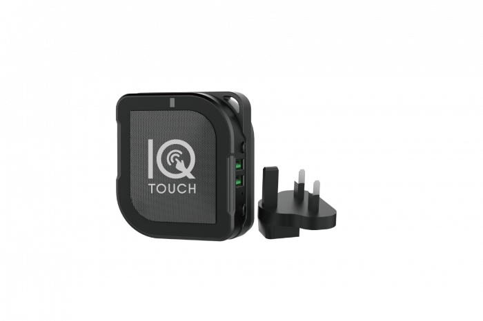 IQ TOUCH 3in1 - BT SPEAKER + POWERBANK + TRAVEL ADAPTER
